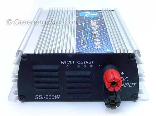 Solar Inverter Back